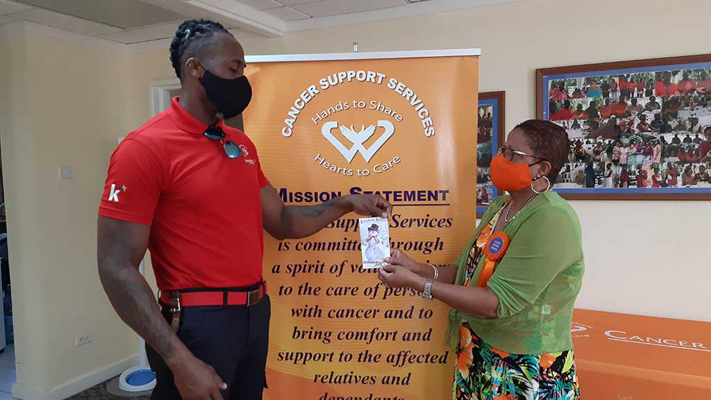 One Eleven Family presented the donation to Ms. Janette Lynton